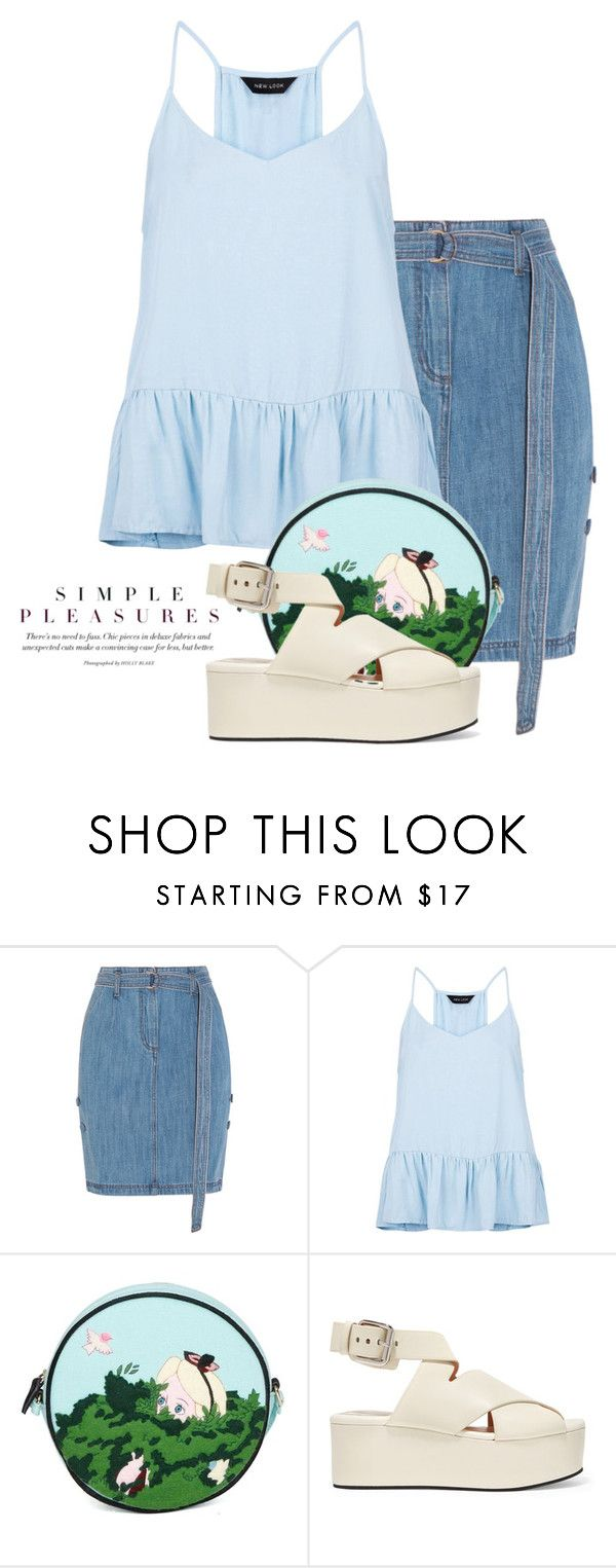 """""""Aug 1st (tfp) 1931"""" by boxthoughts ❤ liked on Polyvore featuring Steve J & Yoni P, New Look, Olympia Le-Tan, Alexander Wang and tfp"""