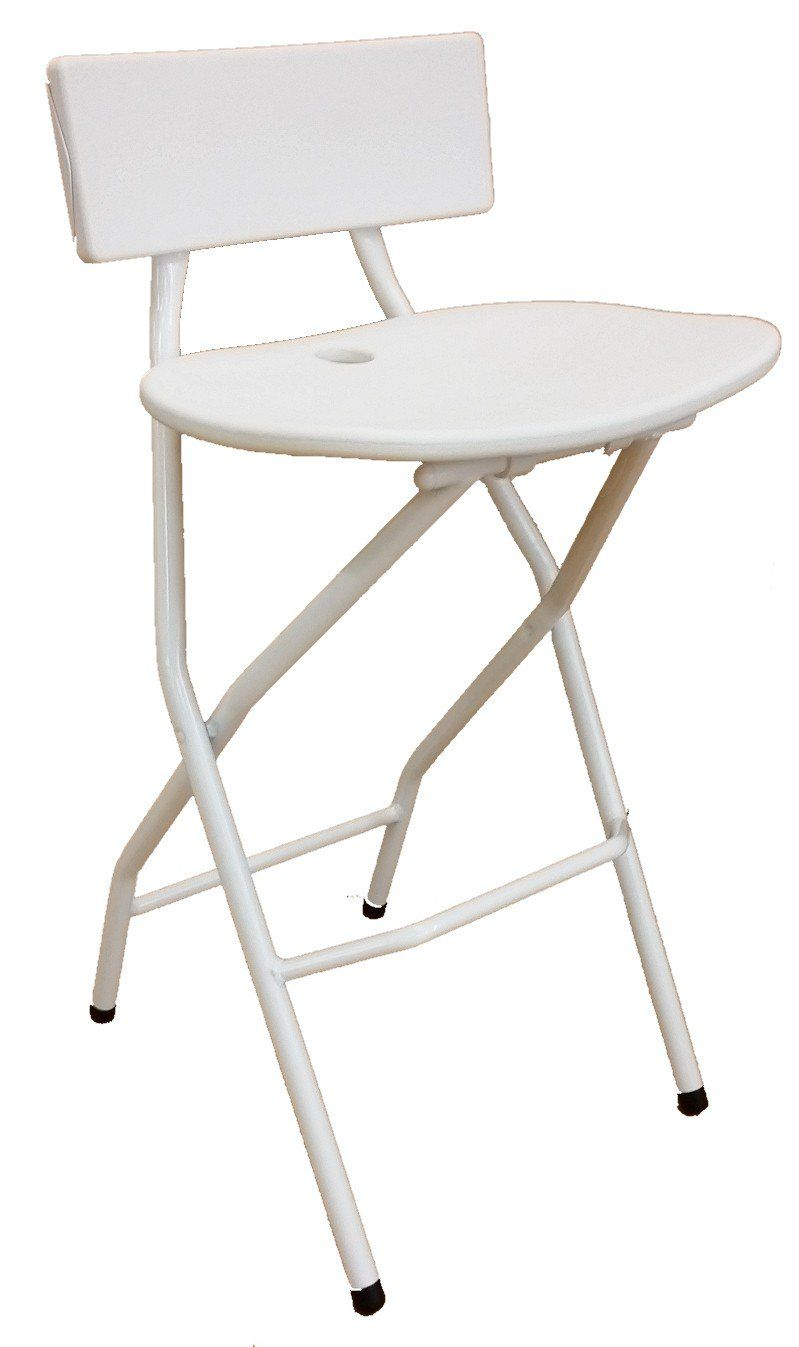 Folding Bar Stool With Backrest Black Folding Bar Stools Stool Bar Stools Folding bar stool with back