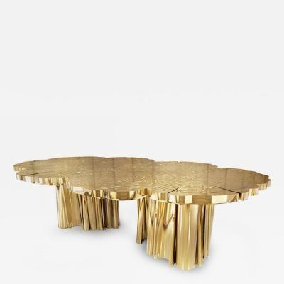 Marco Antonio Olvera Calderon Free Form Dining Table In High