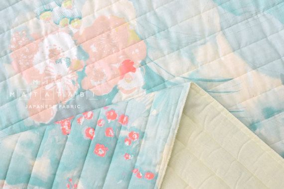 63fe1fbd4a1 Komorebi pre-quilted double gauze nani IRO collection by Naomi Ito for  Kokka 100%