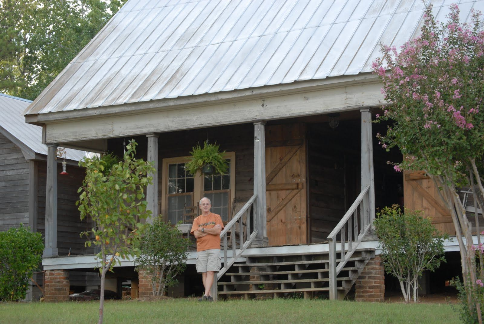 The House At Sugar Creek The Miller Dog Trot In Webster Parish Dog Trot House Plans Dog Trot House Southern House Plans