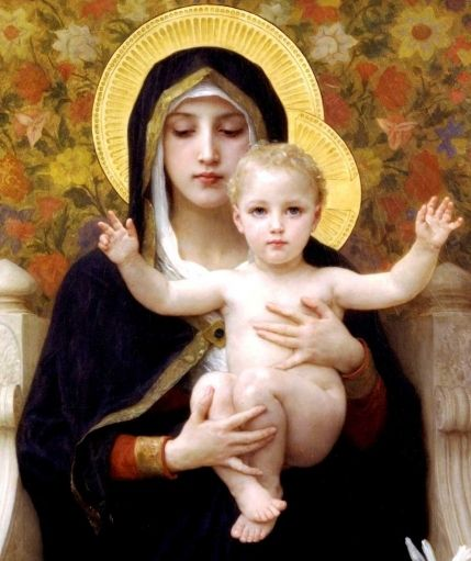 Image result for Mary with Jesus