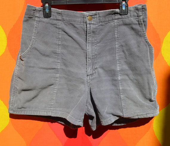f28945d384 vintage 80s corduroy shorts ocean pacific gray OP by skippyhaha ...