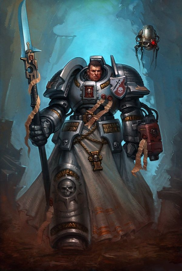 Warhammer 40k Wallpaper Grey Knights Wallpapersafari Rouge
