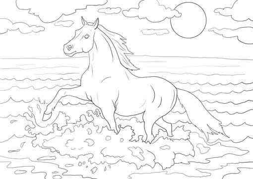 Ausmalbilder Pferde 117 Horses Ausmalbilder Pferde