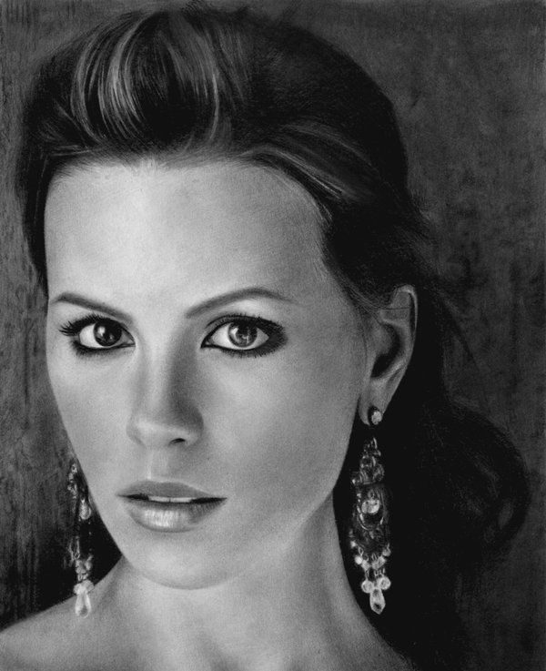20 Photorealistic Celebrity Pencil Portraits