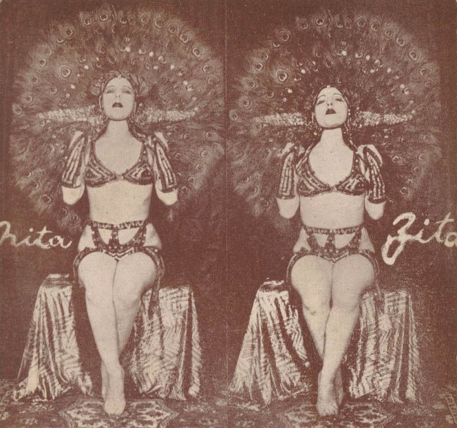 Nita and Zita! These sisters call to my Hungarian Burlesque folk art roots!