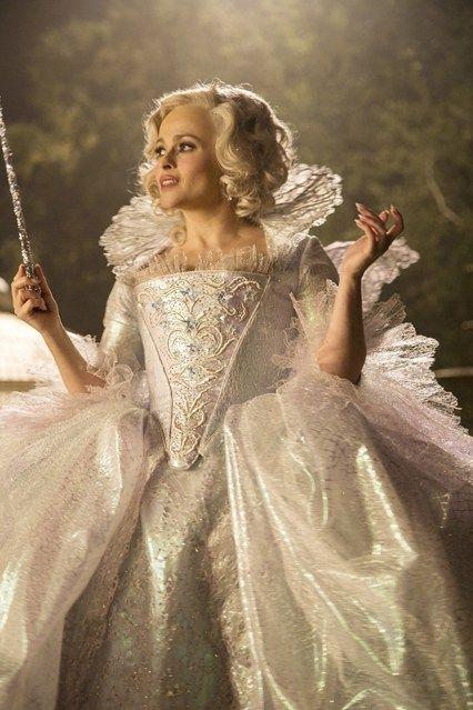 Cinderella Behind The Scenes Godmother Dress Cinderella Movie