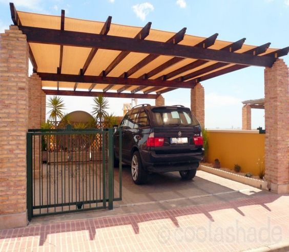 Image Result For Carport Under Modern House: Image Result For Pergola Over Driveway