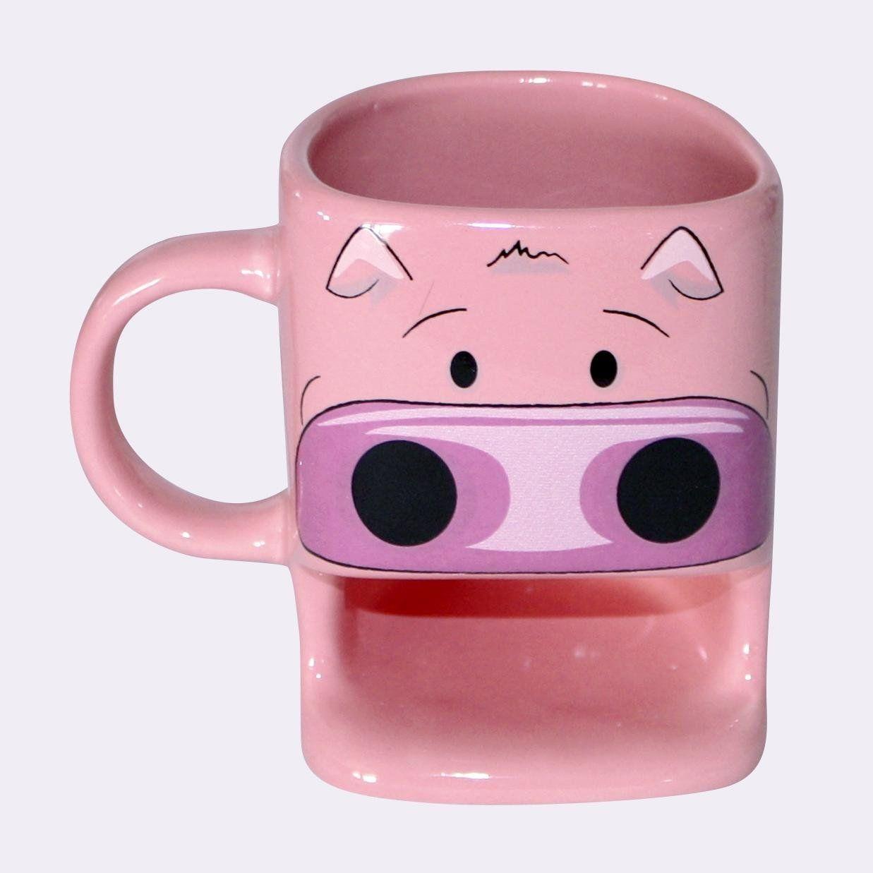 Schwein Tasse mit Keksablage Cookie Cup, aus Keramik: Amazon.de ...