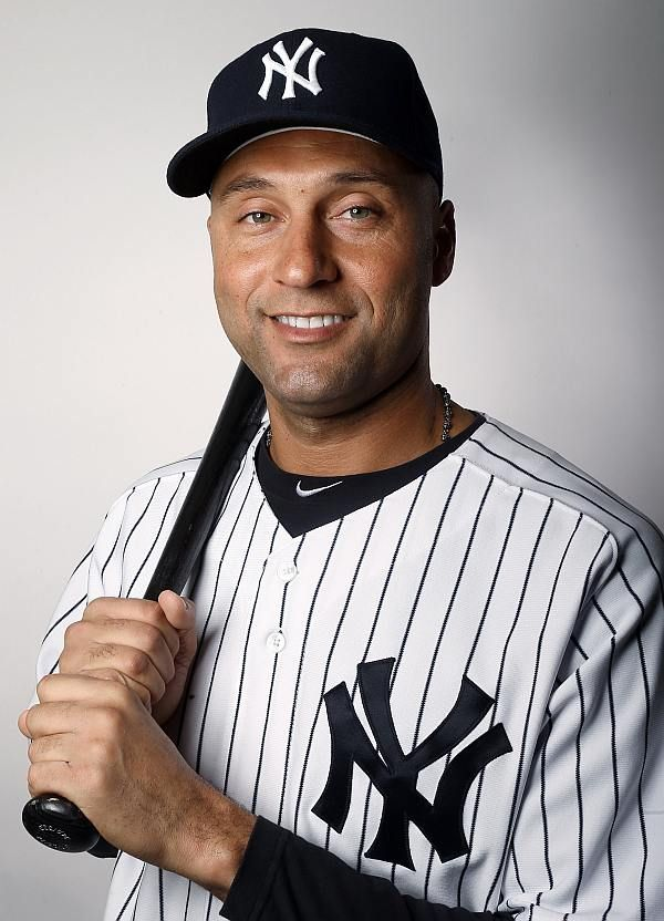Derek Jeter Shortstop Captain New York Yankees