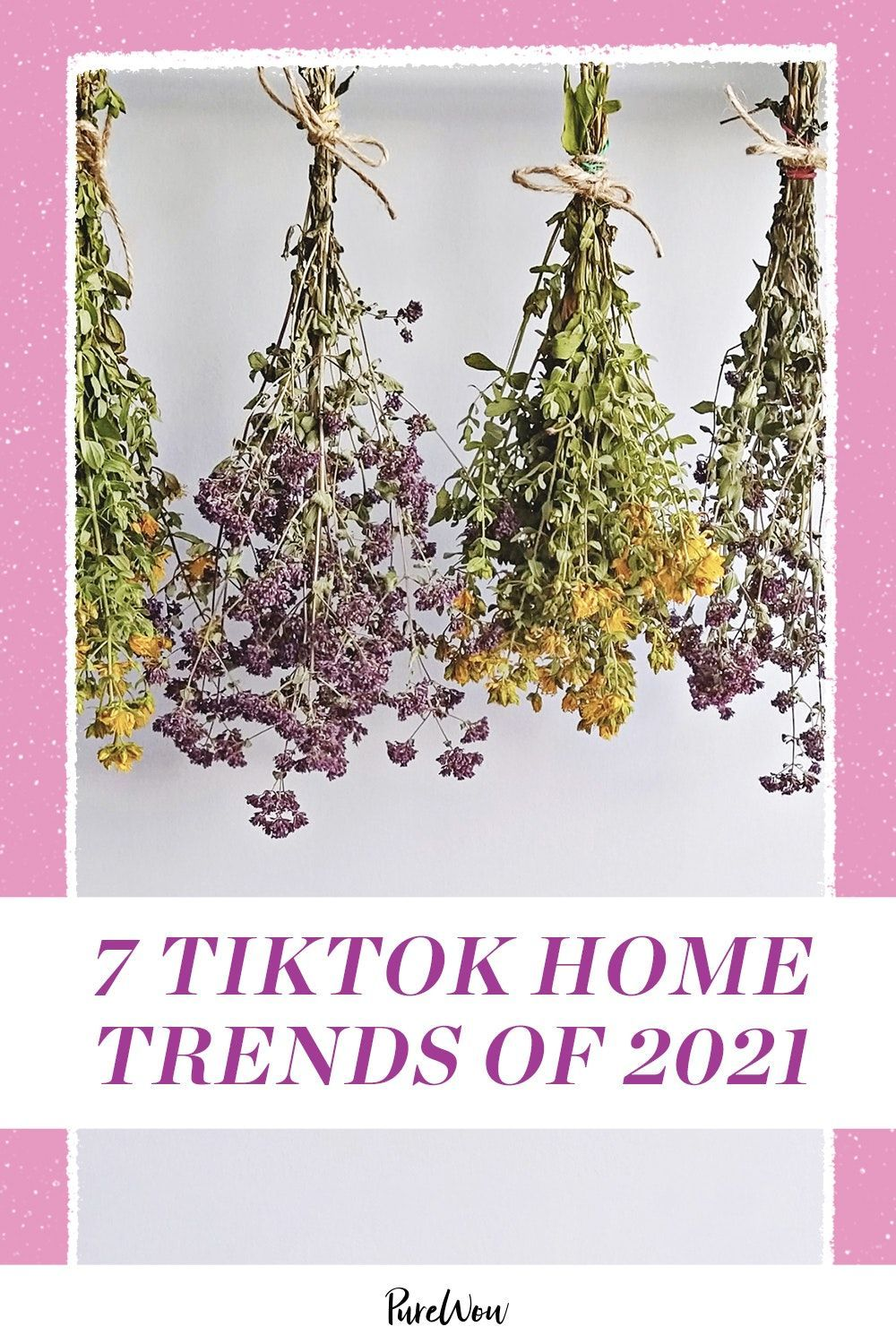 These Are The 7 Top Home Trends Of 2021 According To Tiktok In 2021 Home Trends Twisted Candles Trending