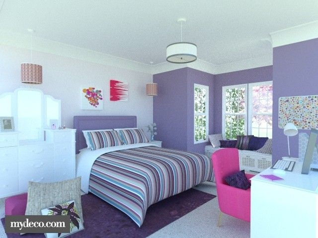 Dream Bedrooms. Dream Bedrooms for Teenage Girls  Bing images I want the window seat Rooms Pinterest