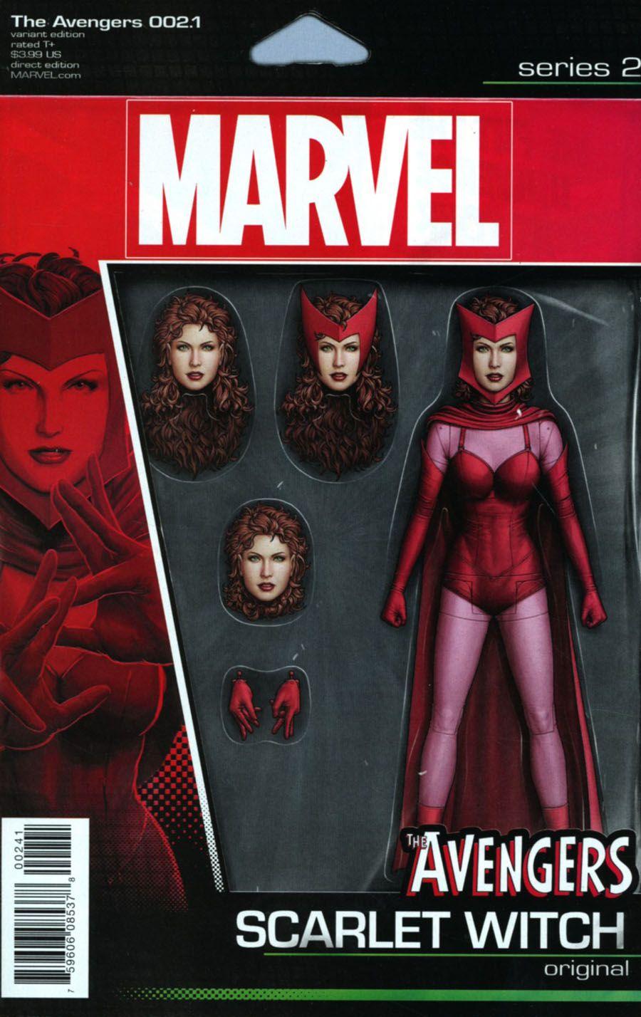 Black Widow #1 John Tyler Christopher Variant Marvel 2016