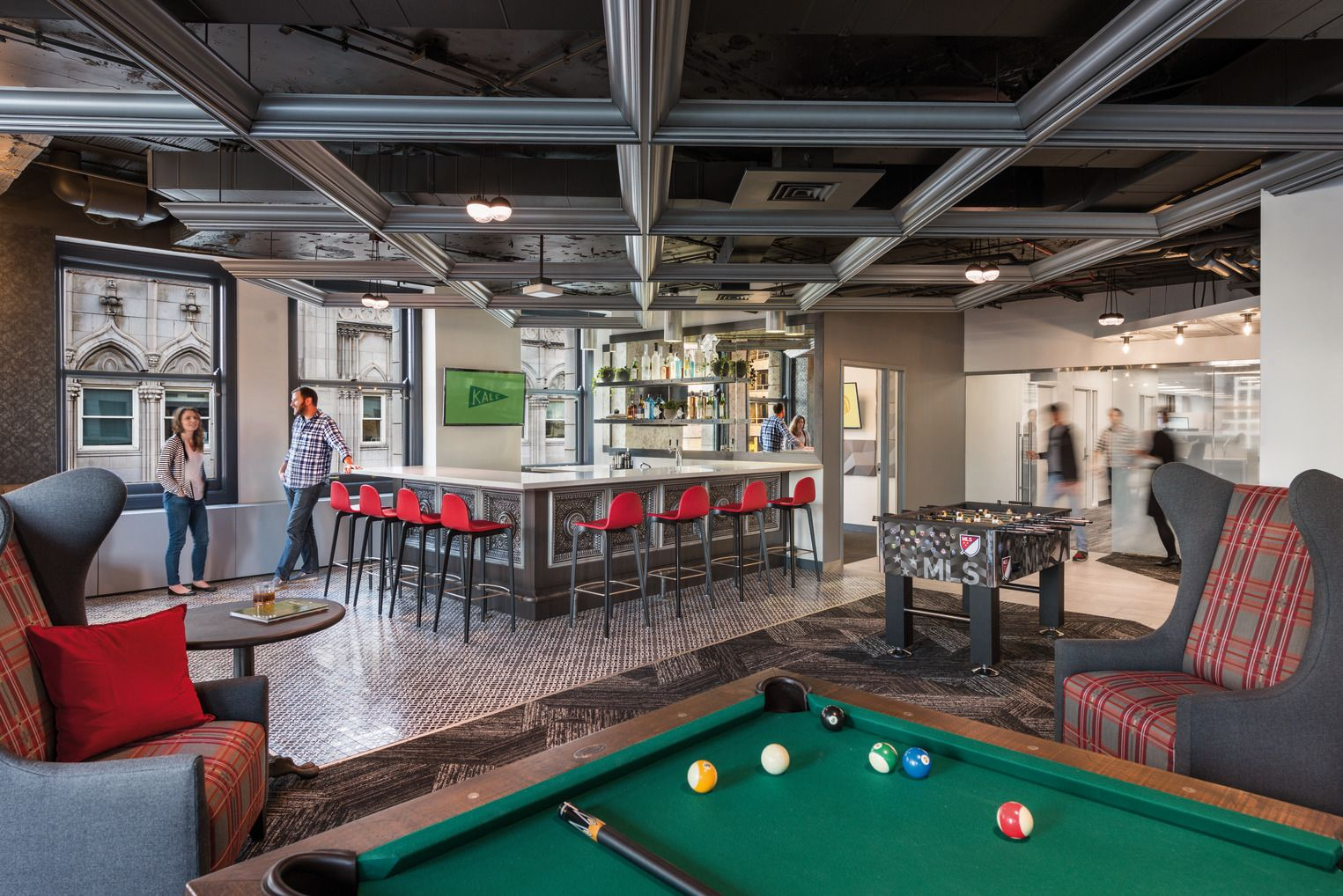Office Tour: Grubhub Offices – Chicago   Hotel games ...