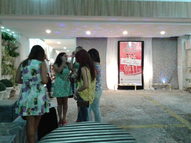 Nossas modelos e blogueiras reunidas.