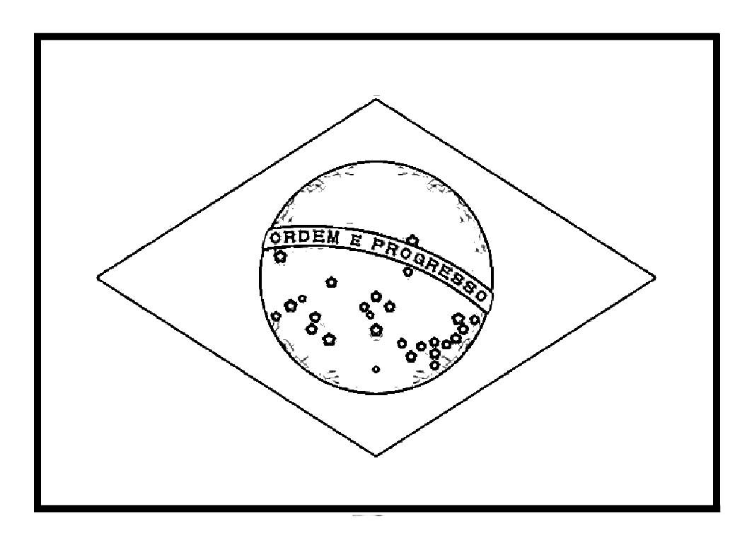 Brazil Flags For Coloring Flag Coloring Pages Brazil Flag