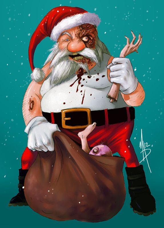 Дед мороз плохой картинки