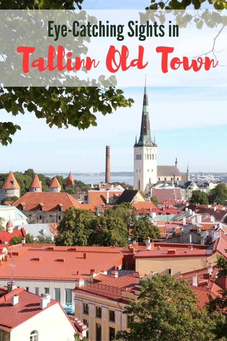 Eyecatching sights in Tallinn Old Town Estonia Wander Churches