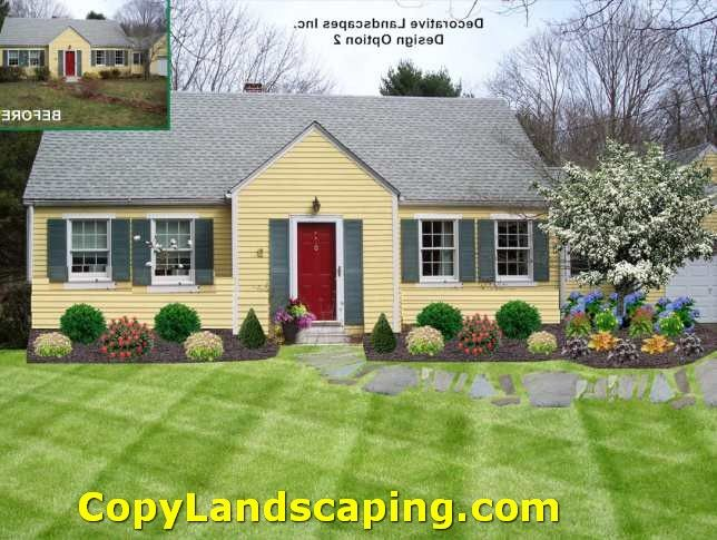 Landscaping Ideas For Cape Cod Style Home Part - 23: Awesome Landscaping Ranch Style Homes