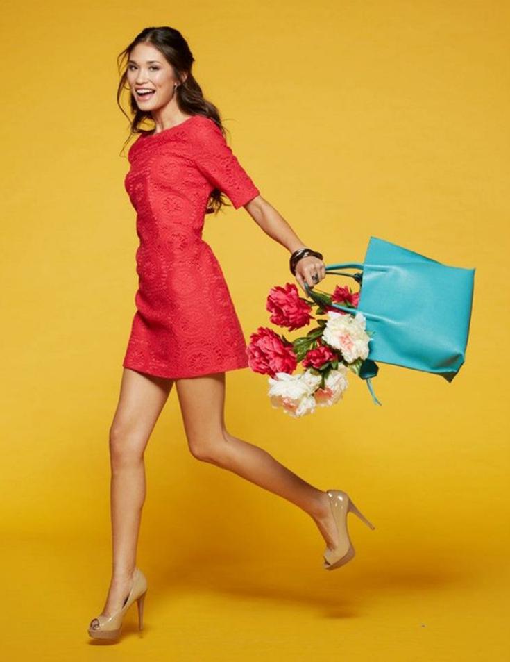 Bold Colors Like Red Plus Italian Leather Handbags Shout