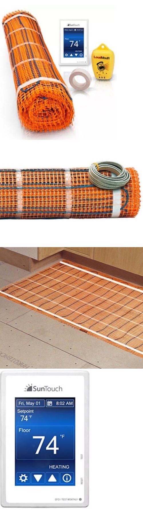 Heated Floor Mats 126214 60 Sq Ft Suntouch Tapemat Heated Floor Kit
