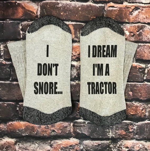 Motorcycle Gift for him, Farmer Gift, Tractor gift, I Don't Snore, I dream I'm a Tractor, Father's Day gift for him, Motorcycle Gifts, MO02