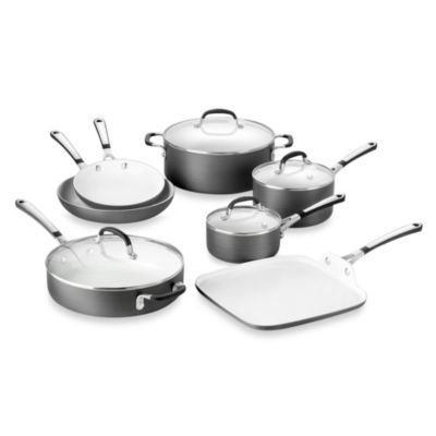 Simply Calphalon® Ceramic Nonstick 11Piece Cookware Set