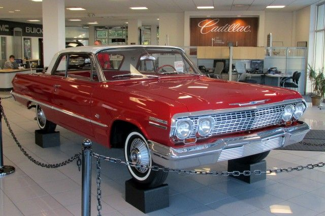Ex Lambrecht 1963 Chevrolet Impala Before And After Photos