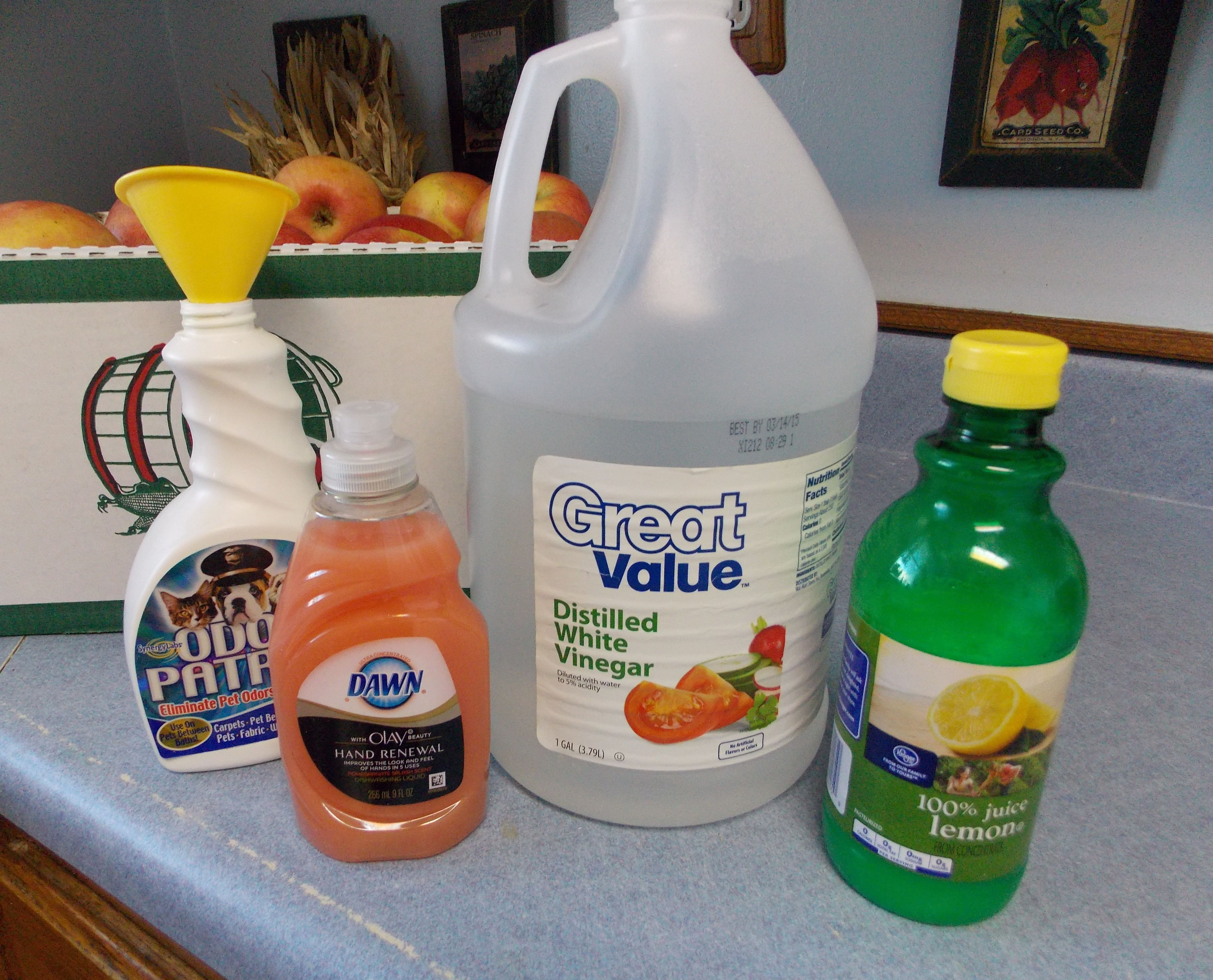 Hard water deposit cleaner - this did a pretty good job with no ...