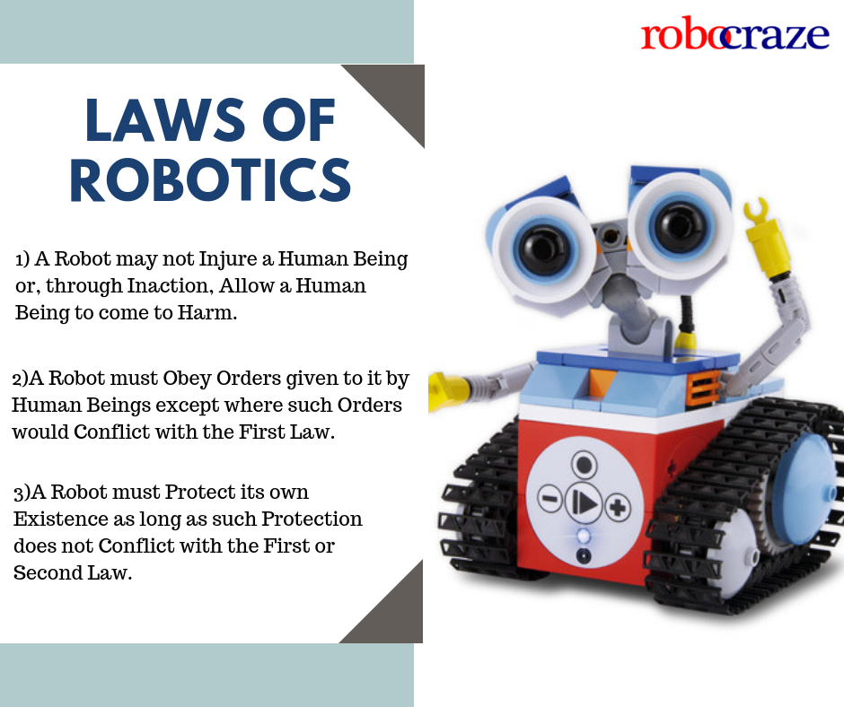 Law of Robotics is a set of laws, rules, or principles