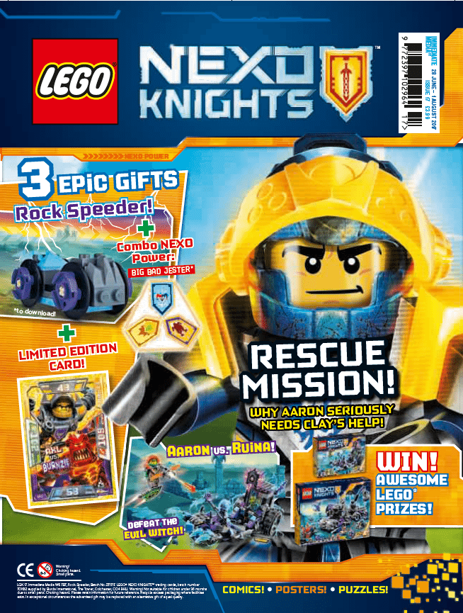 LEGO Nexo Knights - issue 17 | Lego playsets