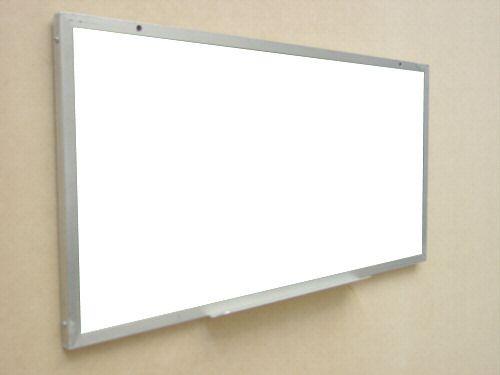 Pizarron blanco con marco de aluminio en lamina wilson - Marcos para laminas ...
