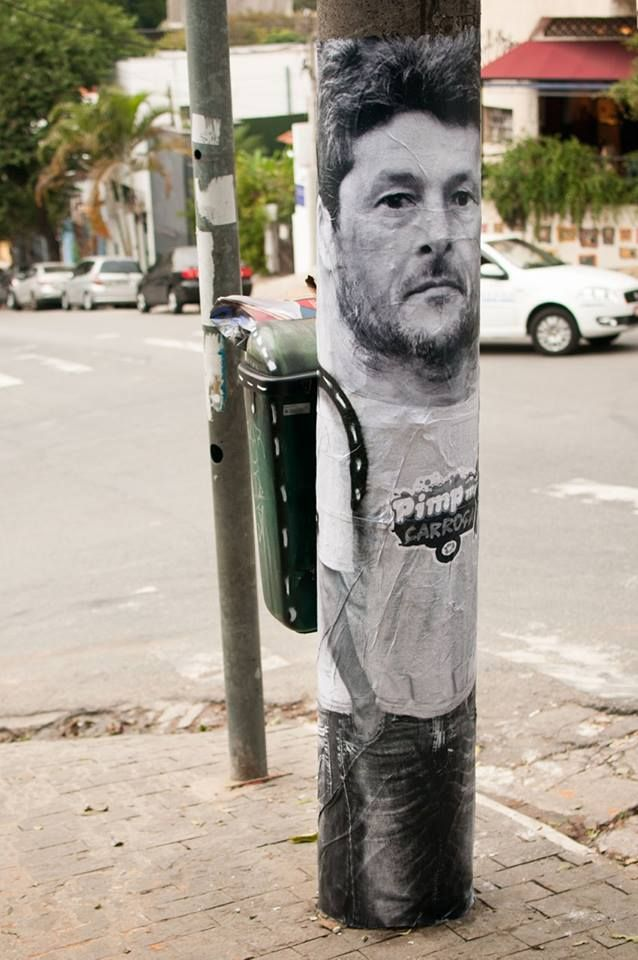 Mentalgassi: Street Art Collective Watch it! Spread it! BRAZIL.