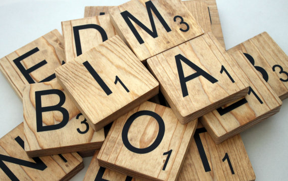 Large Scrabble Tiles - 3.5\