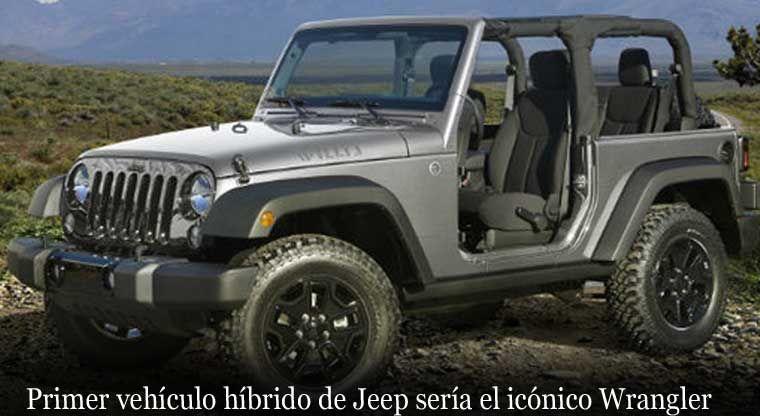Primer Vehiculo Hibrido De Jeep Seria El Iconico Wrangler Jeep Wrangler 2014 Jeep Wrangler Rubicon Jeep Wrangler