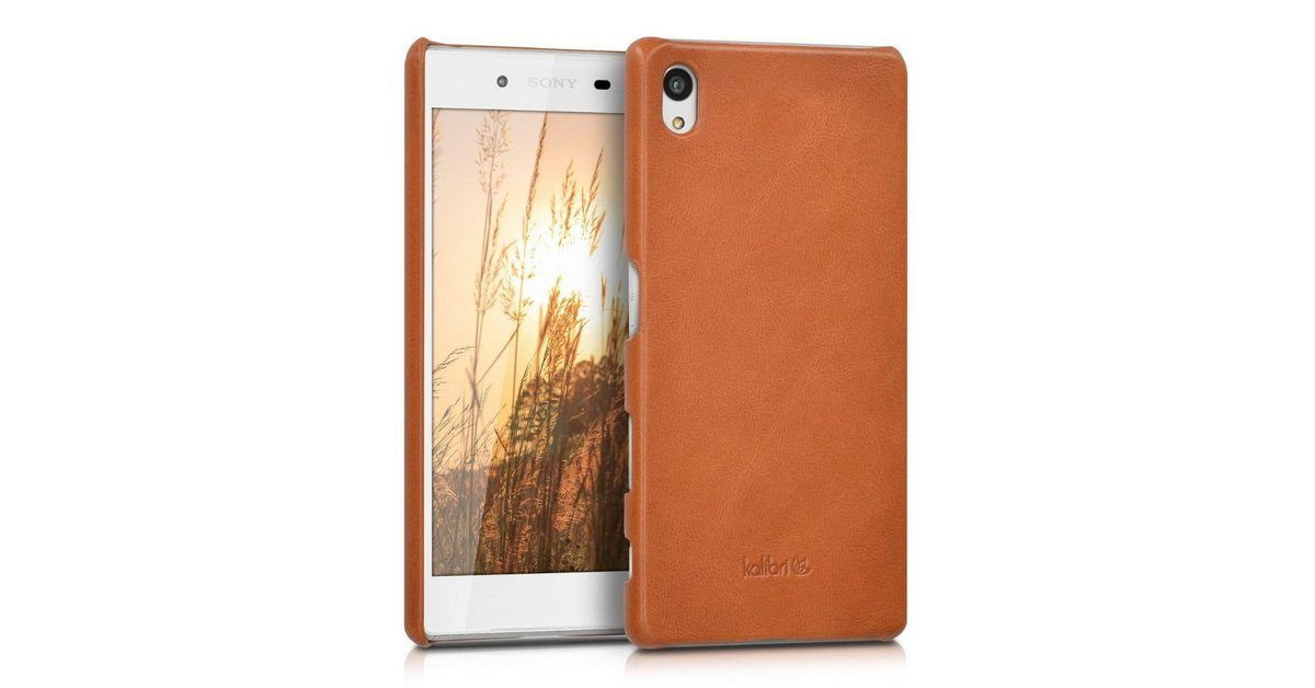 Handyhulle Hulle Fur Sony Xperia Z5 Leder Handy Cover Case Hardcover Schutzhulle Sony Xperia Schutzhulle Und Sony