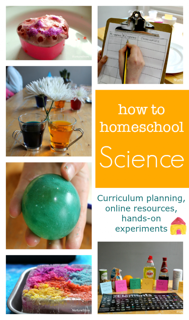 How to homeschool science