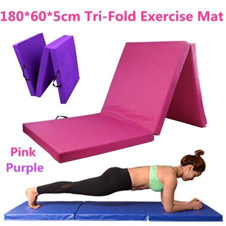 "Exercise Mat 10/'x4/'x2/"" Folding Panel Aerobics Gymnasium GYM Fitness"