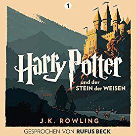 Ich Habe Mir Gerade Harry Potter Und Der Stein Der Weisen Gesprochen Von Rufus Beck Harry Potter 1 Von J K Spanisch Lernen Stein Der Weisen Cover Design