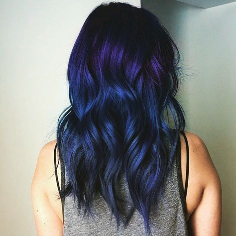 Proof That All Brunettes Can Rock Amethyst Hair Health Beauty