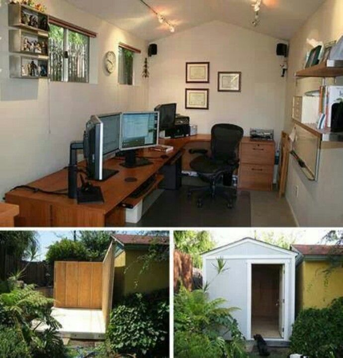 Shed Turned Into Office (With Images)