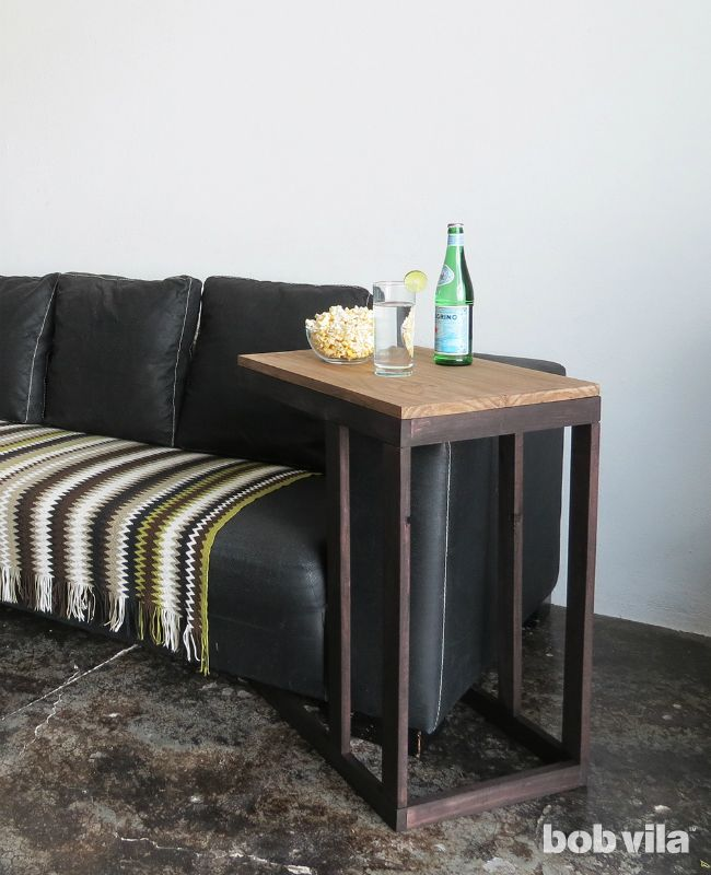 Photo of DIY Lite: The Most Convenient Side Table Wood Can Build