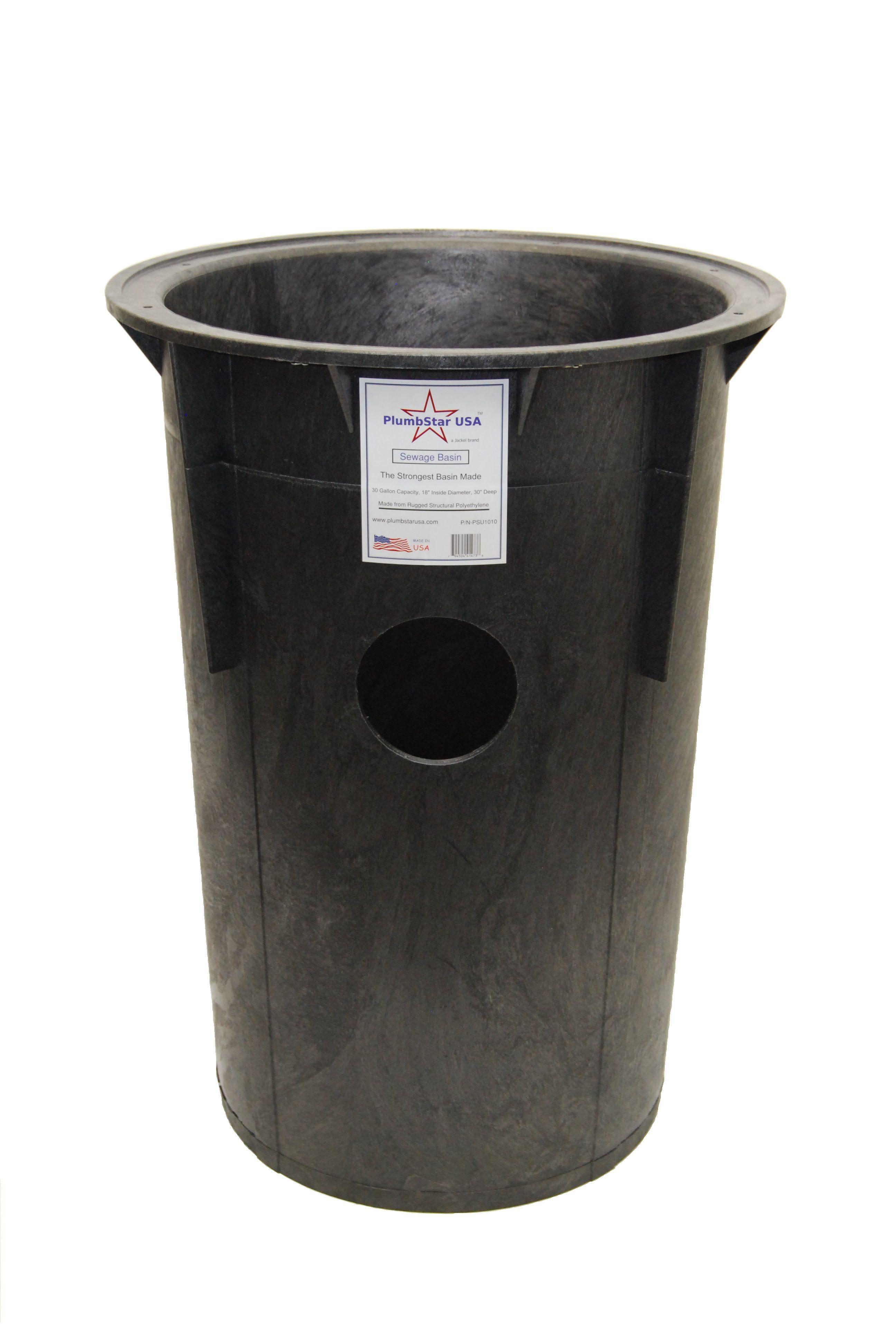 Our 30 Gallon Plumbstar Usa Sewage Basin Basin Sump