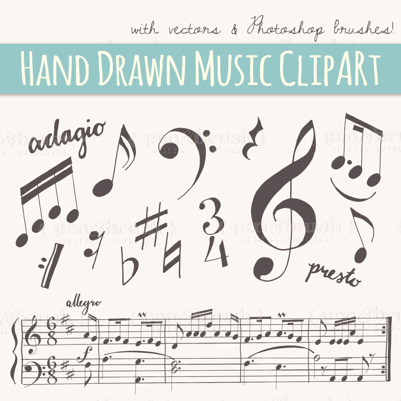Music Notes Clipart Music Clipart Music Digital