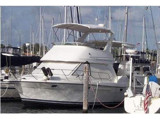 1999 Bayliner 4087 ACMY Motor Yachts,Convertible Boats in Oxnard, CA