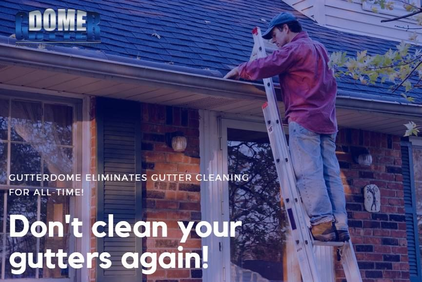 True Or False I Will I Need To Perform Monthly Or Annual Maintenance To Keep Debris Off Of Gutterdome False Cleaning Gutters Roof Cleaning Home Maintenance