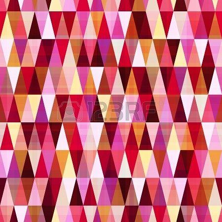 nahtlose abstrakte geometrische Muster Dreieck Stockfoto