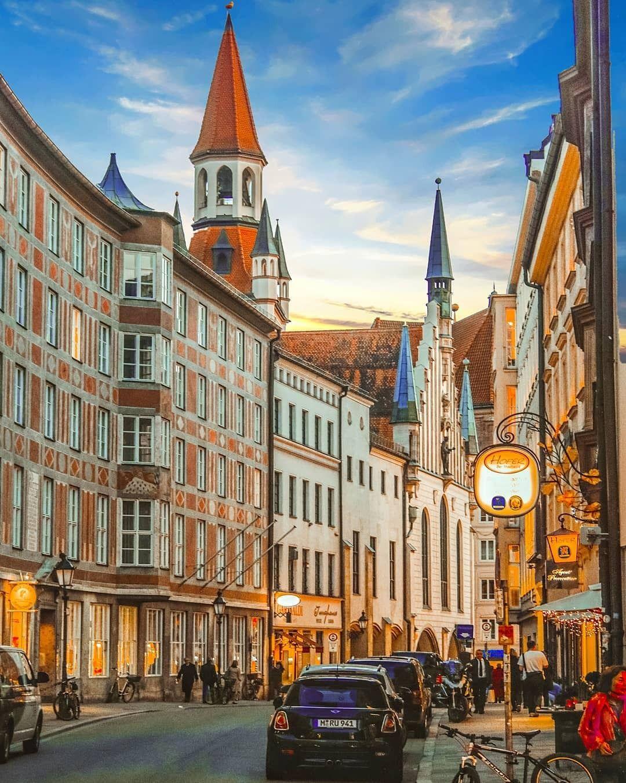 Обои мюнхен, здания, крыши, Munich, Germany, германия. Города foto 19