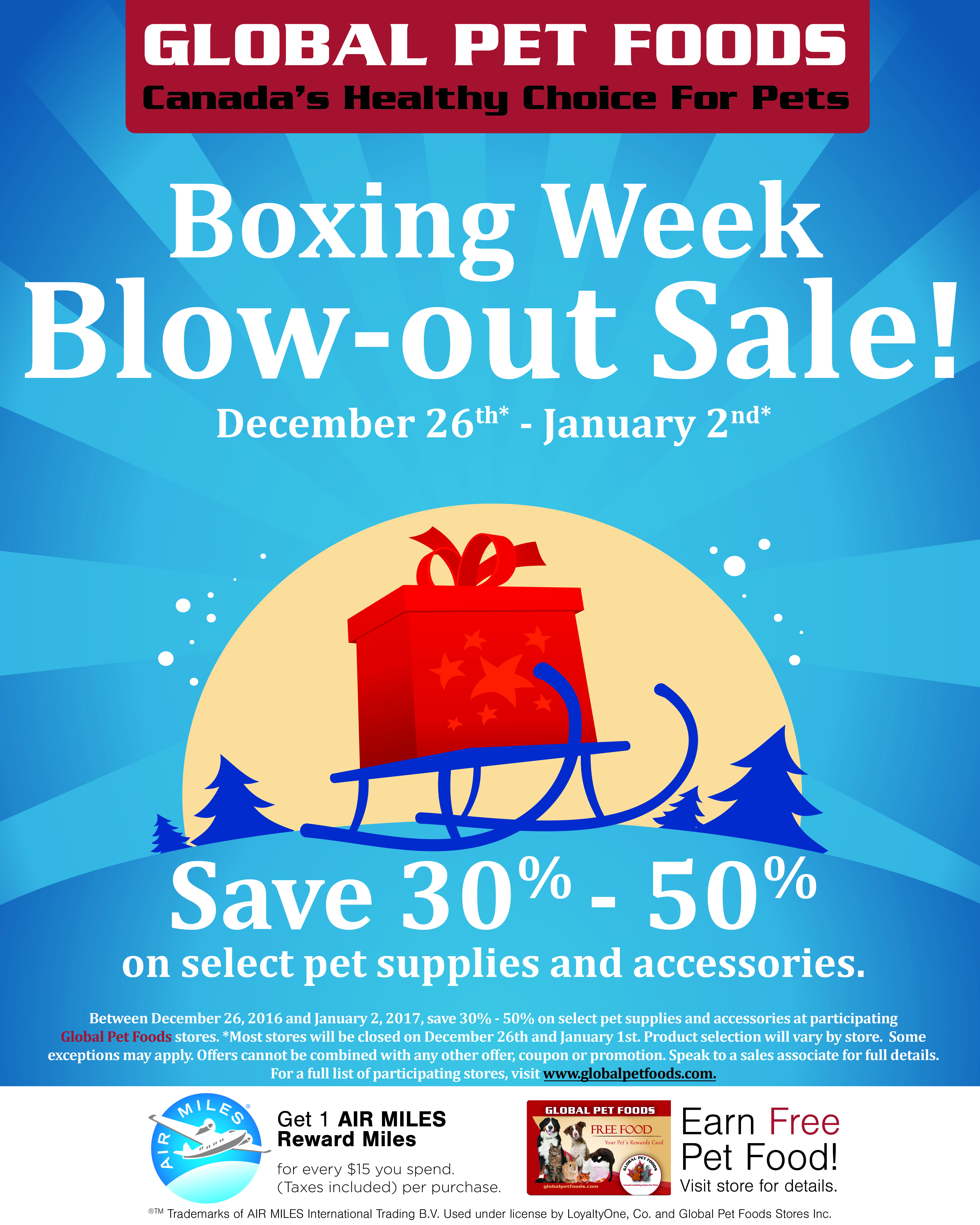 Shop The Global Pet Foods Boxing Week Blow Out Sale And Save With Up To 50 On A Variety Of Pet Supplies And Accessories Pet Food Store Food Store Food Animals
